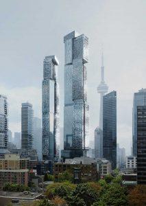 Mirvish+Gehry Condos - mirvish gehry exterior 213x300