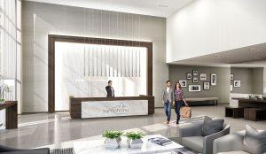 Lobby Rendering - symphony condo lobby 300x174