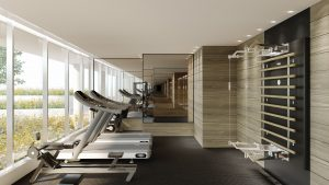 Fitness Area Rendering - Fitness area 300x169