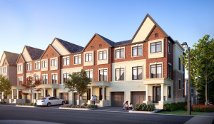 The Towns at Baker Hill Exterior Rendering 2 - 3 300x174
