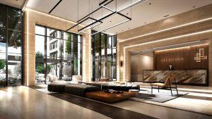 Lobby Rendering - Lobby 1 300x169