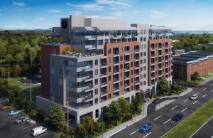 The Founders Residences - Exterior Rendering - TFR TownhomeResidences ExteriorAerial 300x194