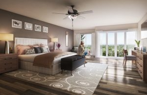 The Founders Residences - Interior Rendering - TFR TownhomeResidences InteriorSuite 300x194