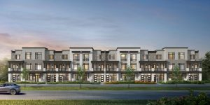 Urban Towns Exterior Rendering - Jun 14 6193 Stacked Blk 2 Front 6000sm 1024x512 300x150