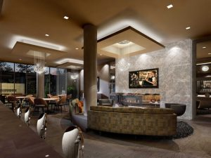 Party Room Rendering - Party Room 1 300x225