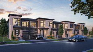 Exterior Rendering - Chestnut Hill Horizons Block 2 Streetscape 300x169