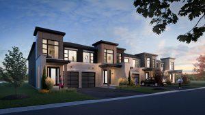 Exterior Rendering - Chestnut Hill Horizons Block 7 Streetscape 300x169