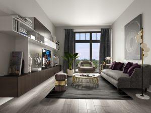 Living Room Rendering - Liv 003 .0000 300x225