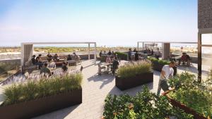 Rooftop Terrace - OakvillageCondo3 300x169