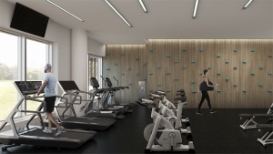 Gym - OakvillageCondo4 300x169