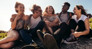 Group of friends enjoying on their holiday - AdobeStock 191305040 e1564530866104 300x162