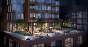 No55 Mercer Condos - Rooftop Terrace - 55 Mercer Rooftop Amenity 300x160