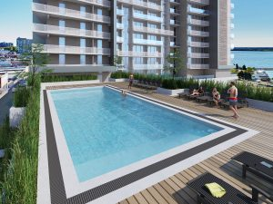 The Residences at Five Points - 5Points Pool 300x225