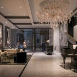 8 Wellesley – Lobby, Furnished With Fendi
