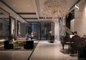 8 Wellesley - 8 Wellesley Lobby Furnished With Fendi 300x210