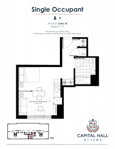 Capital Hall - Floor Plan - 375SqFtFloorPlan 232x300