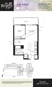 Floor Plan – Wyatt 2307