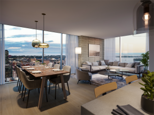 Living / Dining - TheSaint Suite 300x225