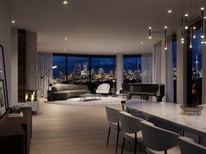 321 Davenport - 321 Suite Living Dining 300x225