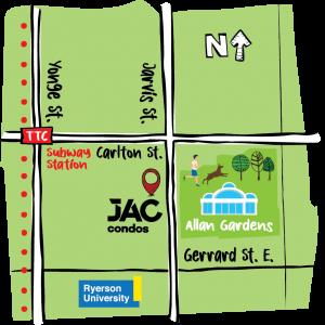 Jac Condos - JacCondos Map 300x300