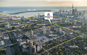 Warehouse Lofts Toronto - WarehouseLoftsToronto Aerial 300x192