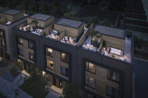Terraces at Eglinton City Towns - TerracesCloseupView 300x200