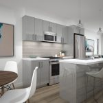 Spur Line Common Phase 3_Town Interior Kitchen Rendering