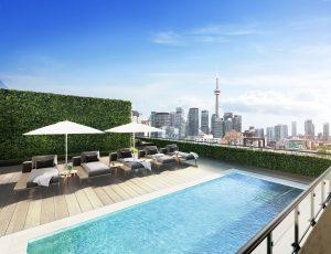 MRKT Condos - MRKT Rooftop Pool 300x230