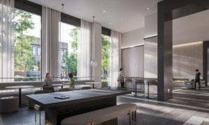 1 Jarvis Condos - Co working Lounge 300x180