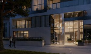 Bayview at TheVillage- Outdoor Terrace _ Exterior Lobby - Bayview at TheVillage Outdoor Terrace   Exterior Lobby 300x180