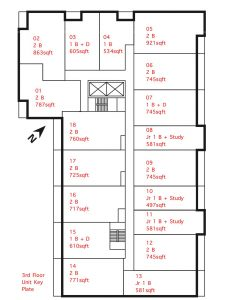 James House Key Plate - James House Key Plate 230x300