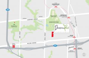 Downsview Park Townhomes - dwpk keymap 300x198
