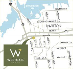Westgate on Main - WestgateOnMain Map 300x285