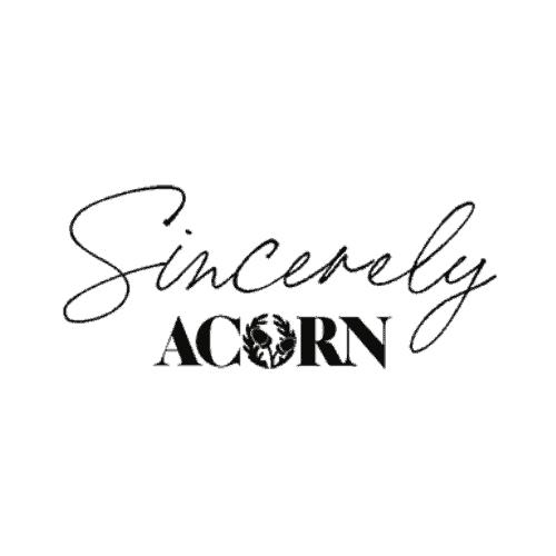 Sincerely, Acorn
